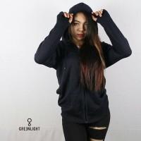 jaket ariel cotton wanita black
