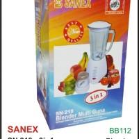 (Dijamin) SANEX - BLENDER SN 218 (3IN1)