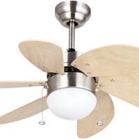 (Murah) MT EDMA - Kipas Angin Lampu Decorative 30in Pilot RB / BN / AB