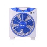 (Murah) GMC - Box Fan 708 12 inch - Putih Biru