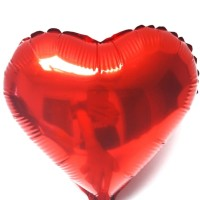 (Diskon) Balon foil love kecil I Balon hati I Balon ulang tahun
