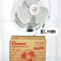 Cosmos wall fan 16 WFC /kipas angin listrik dinding tembok