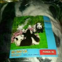 Selimut Bonita - Slimut tidur - Selimut motif Panda