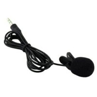 3.5mm Microphone with clip on Mic Mik Mike HP PC iphone Mikrofon Klip