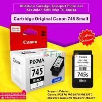 Cartridge Original Canon Small PG-745s PG745s 745 Black, Tinta Printer