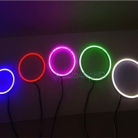 COB Angel Eyes LED Shadow Ring Plasma LED Warna Warni Banyak Ukuran