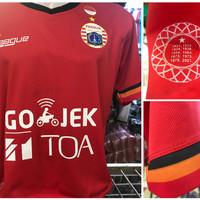 Jersey Persija Home 2017/2018 grade ori official gojek traveloka liga1