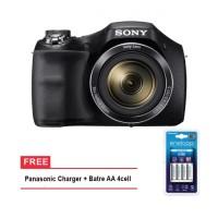 Sony DSC-H300 Digital Camera Free Battery Rechargeable Promo