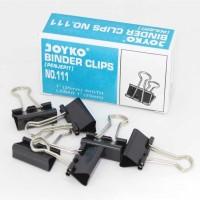 Binder Clip No. 111 Joyko - Penjepit Dokumen Sedang