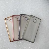 CASE XIAOMI REDMI 4X ANTI CRACK LIST CHROME HANDPHONE TABLET AKSESORIS
