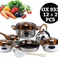 OX 933 Panci Set Oxone Eco Cookware