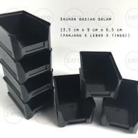 Kotak Plastik Stackable mono rakko rako - rak susun - rak komponen