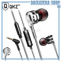 Knowledge Zenith Bass Metal Earphone dengan Mic - QKZ-DM9
