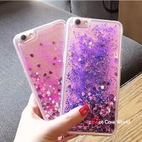 Glitter Water Case for Xiaomi Redmi 4x Vivo V5 V5s Y67 Y55 Jelly Case