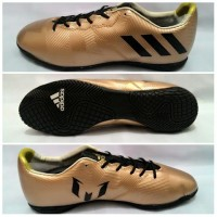 OBRAL!! SIZE 40 SAJA! Sepatu Futsal Grade Ori Adidas Messi Gold