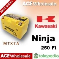Aki kering / Ninja 250 fi / Kawasaki / MTX7A MOTOBATT u/ Yuasa GS 7A