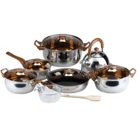Panci Eco Cookware Set Stainless Oxone OX-933