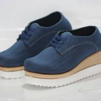 sepatu boots jeans vintage/sneakers wedges TERMURAH/sepatu kets wanita