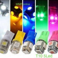 Lampu Sen Sein T10 Bolam 5 Led (1pcs)