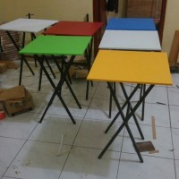 meja lipat uk.60x40 / meja makan / meja bazar / meja cafe