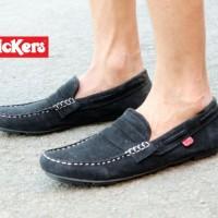 Sepatu Kickers Slip On Casual Pria Nike Adidas Slop Kulit Boots Vans