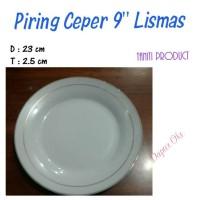 "Piring Ceper Lismas 9"" (6 pcs) / Piring Makan"
