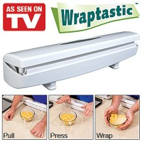 Wraptastic - pemotong plastik - Food Plastic Wrapping Dispenser