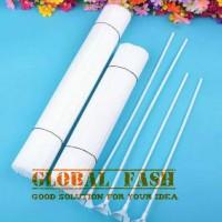 gagang balon latex putih/ stick balon latex/ tangkai balon/ stik balon