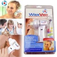 Alat Pembersih Telinga / Kuping Elektrik / Baterai - WaxVac