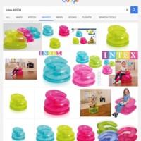 sofa pompa anak intex jr fun chairs kursi angin udara mainan 48509