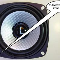 Speaker Woofer 4 Inch / 4 - 8 Ohm........ Kekuatan 80watts Peaks....