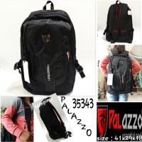 tas palazzo backpack 35343 tas ransel sekolah murah palazzo black