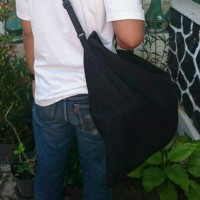 SARUNG / TAS HELM ANTI AIR - Hitam