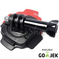 Action Cam Helmet Mount Adapter 360 for GoPro, Xiaomi Yi & Brica AE/AP