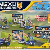 Lego Lele 32001 ABCD (1-4) SET Nexo Knights