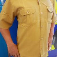 Baju Seragam PEMDA Coklat, Setelan Pemda, PNS Pemda, Kemeja dan Cela