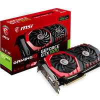 VGA Card MSI Nvidia GTX 1070 GAMING X 8GB DDR5 256BIT