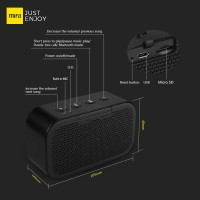 Speaker Xiaomi MiFa M1 Stereo Portable Bluetooth with Micro SD - Black
