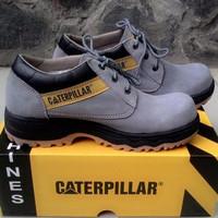 sepatu boot tambang boots keren Tracking Caterpillar Ujung Besi murah