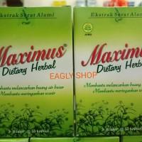 Maximus Dietary Herbal Supplement (penurun berat badan) 3x10 kaps