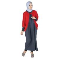 Busana Muslim Wanita Tanpa Kerudung Raindoz RKK 079