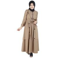 Busana Muslim Wanita Tanpa Kerudung Raindoz ROK 031