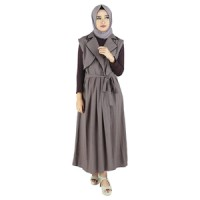 Busana Muslim Wanita Tanpa Kerudung Raindoz RKA 012