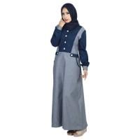 Busana Muslim Wanita Tanpa Kerudung Raindoz RDD 045