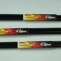 2Pcs Stick Drum Kayu Hitam Zildjian