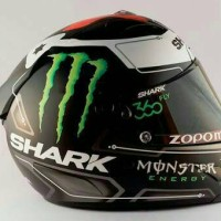 Sticker Decal Helm Desain Shark Lorenzo