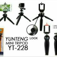 MINI TRIPOD FOR PHONE / CAMERA BY YUNTENG YT-288
