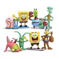 FG42 Figure Set isi 8 Spongebob & Friends