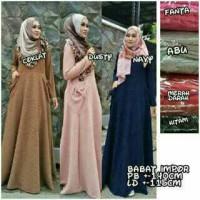 HOT SALE - Gamis Babat Impor/Dress/Babat Import