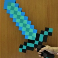 Pedang Minecraft / Minecraft Sword (Diamond Sword)